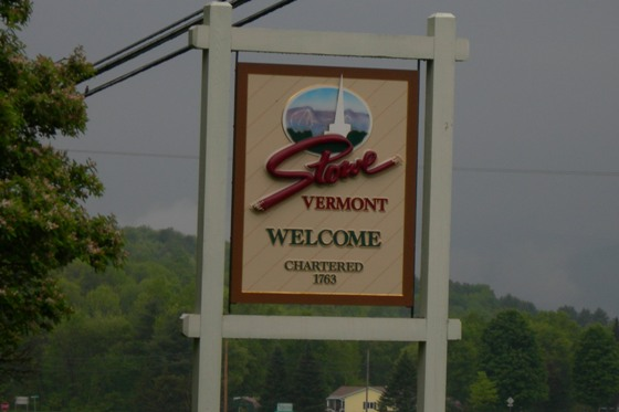 welcome to stowe vermont