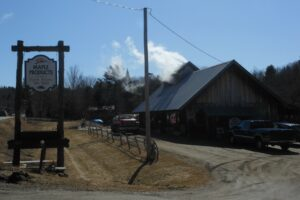 Stowe, Vermont Maple Products on Route 100