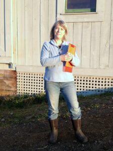 Brenda Hedges Organic Farm Inspector